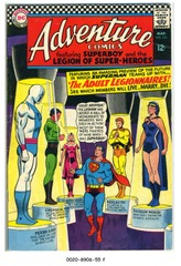 ADVENTURE COMICS #354 © 1967 DC Comics
