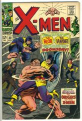 The X-MEN #038 © 1967 Marvel Comics
