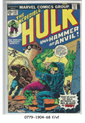 The Incredible Hulk #182 © December 1974, Marvel Comics