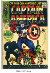 Captain America #100 © April 1968 Marvel Comics
