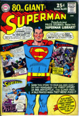 SUPERMAN #183 / 80 PAGE GIANT G18 © January 1966 DC Comics