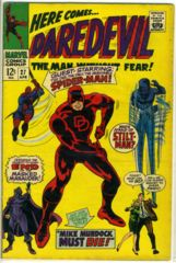 DAREDEVIL #027 © April 1967 Marvel Comics