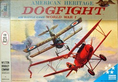 DOGFIGHT Air Battle Game, World War I © 1963 Milton Bradley 4302