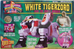 Mighty Morphin Power Rangers White Tigerzord © 1994 Bandi 2271