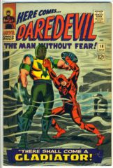 DAREDEVIL #018 © July 1966 Marvel Comics