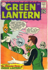 GREEN LANTERN #011 © 1962 DC Comics