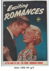 Exciting Romances #6 © December 1951, Fawcett Publications