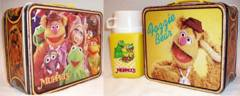 MUPPETS Lunch Box w/ Thermos © 1979 Thermos King Seeley