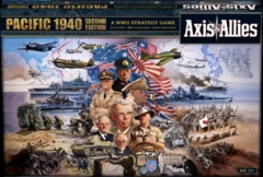 Axis & Allies Pacific: 1940 2nd Edition