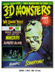3-D Monsters © 1964 Flair Publishing