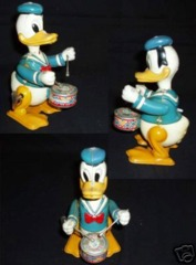Walt Disney's DONALD DUCK THE DRUMMER © 1950's