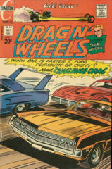 Drag N' Wheels #54 © July 1972 Charlton