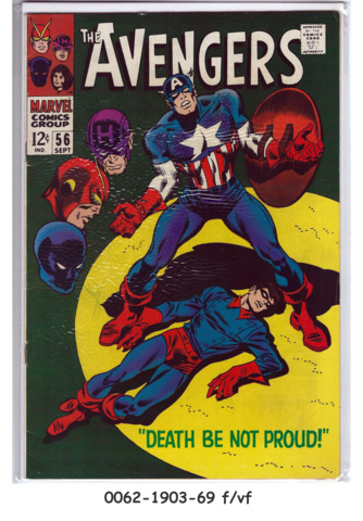The Avengers #056 © September 1968 Marvel Comics