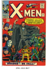The X-Men #022 © July 1966 Marvel Comics