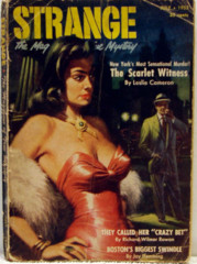 Strange, The Magazine of True Mystery v1#3 © 1952 Quinn Pulp Novel