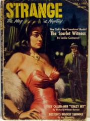 Strange, The Magazine of True Mystery v1#3 © 1952 Quinn Pulp Novel