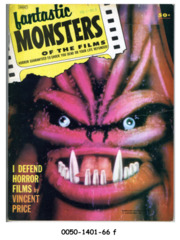 Fantastic Monsters of the Films v1#4 © 1962 Black Shield Publication