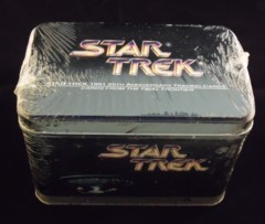 Star Trek 1991 25th Anniversary Trading Cards Tin © 1991 Impel