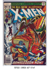 The X-Men #108 © December 1977, Marvel Comics