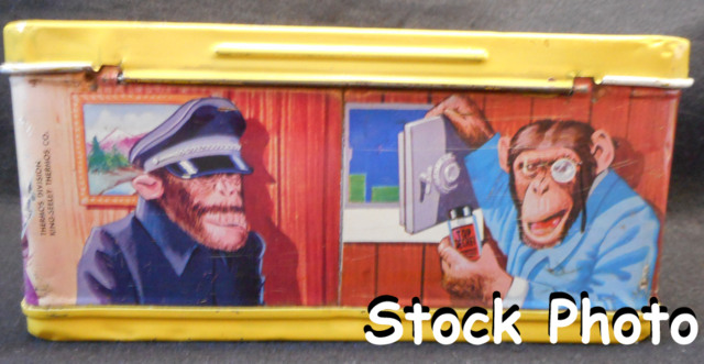 Lance Link Secret Chimp Lunch Box © 1971, King Seeley