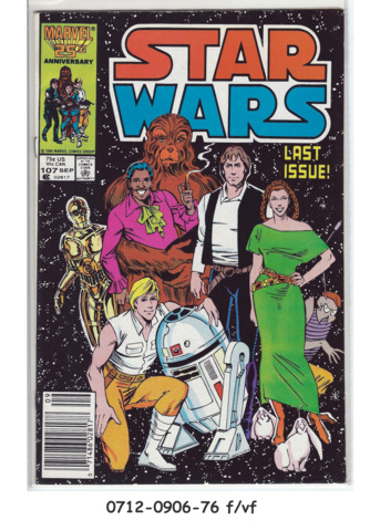 Issue 76! Marvel Comics Star Wars
