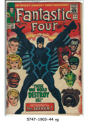Fantastic Four #046 © January 1966 Marvel Comics