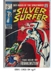 The Silver Surfer #07 © August 1969, Marvel Comics