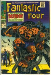 Fantastic Four #068 © November 1967 Marvel Comics