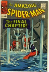 Amazing Spider-Man #033 © February 1966 Marvel Comics