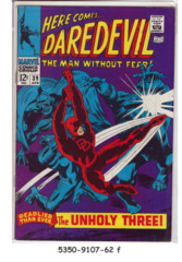 Daredevil #039 © April 1968 Marvel Comics
