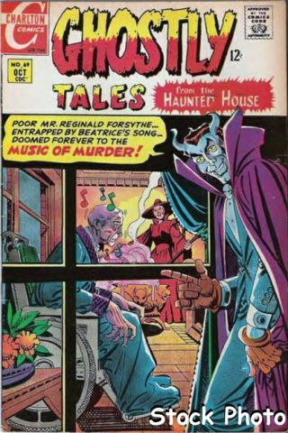 Ghostly Tales #069 © October 1968 Charlton
