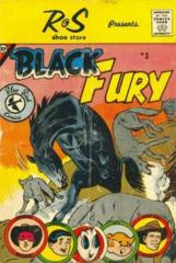 Blue Bird Comics, Black Fury #3 © 1959