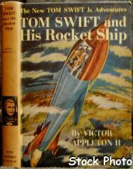 Tom Swift and His Rocket Ship #3 © 1954 Victor Appleton II
