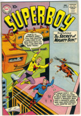 SUPERBOY #085 © December 1960 DC Comics