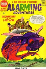 Alarming Adventures #1 © 1962 Harvey Comics