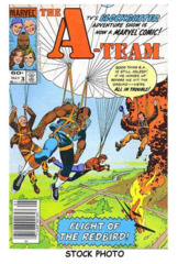 A-Team #3 © May 1984 Marvel Comics
