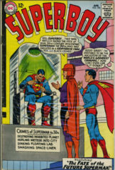 SUPERBOY #120 © April 1965 DC Comics