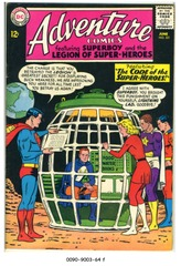 ADVENTURE COMICS #321 © 1964 DC Comics