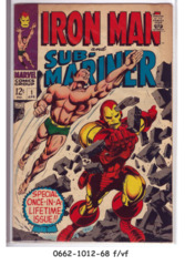 Iron Man & Sub-Mariner #1 © April 1968 Marvel Comics