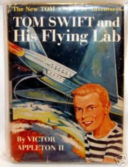 TOM SWIFT Jr. and his FLYING LAB #1 © 1954 w/ DUSTJACKET