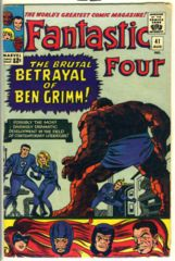 Fantastic Four #041 © August 1965 Marvel Comics