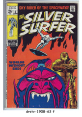 The Silver Surfer #06 © June 1969, Marvel Comics