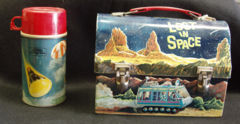Lost in Space Lunchbox w/ Thermos © 1967 Thermos