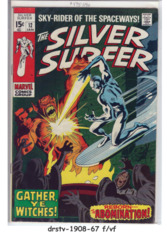 The Silver Surfer #12 © January 1970, Marvel Comics