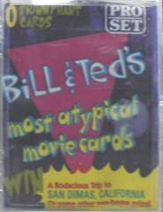 BILL & TED'S MOST ATYPICAL MOVIE CARDS Set © 1991 Pro Set