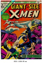 Giant-Size X-Men #2 © 1975 Marvel Comics
