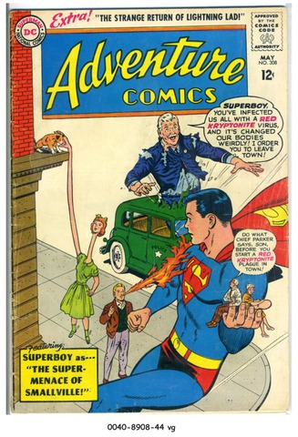 ADVENTURE COMICS #308 © 1963 DC Comics
