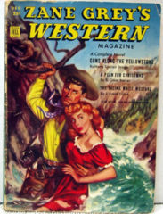 ZANE GREY'S WESTERN MAGAZINE V5 #10 © 12/51 Dell