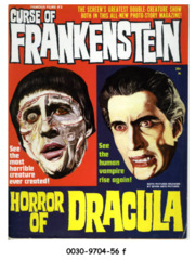 Curse of Frankenstein / Horror of Dracula Photo Adaptation