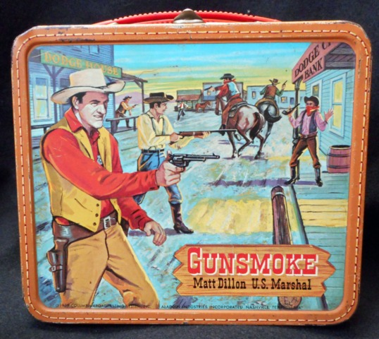 Gunsmoke Matt Dillion U.S. Marshal © 1962 Aladdin